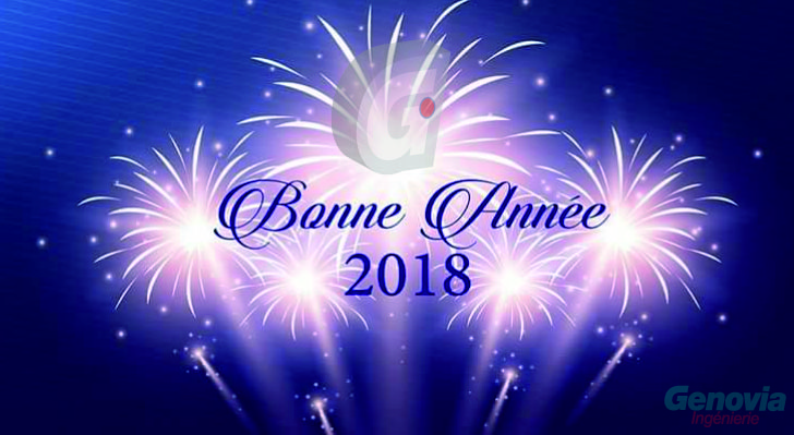 genovia ingnierie team wishes you all the best for the new year 2018